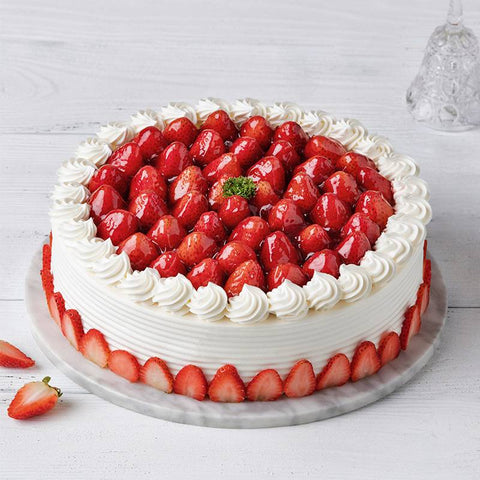Strawberry Circle cake To China