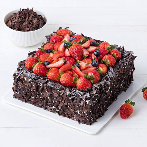 Black Forest Strawberry Cake To China