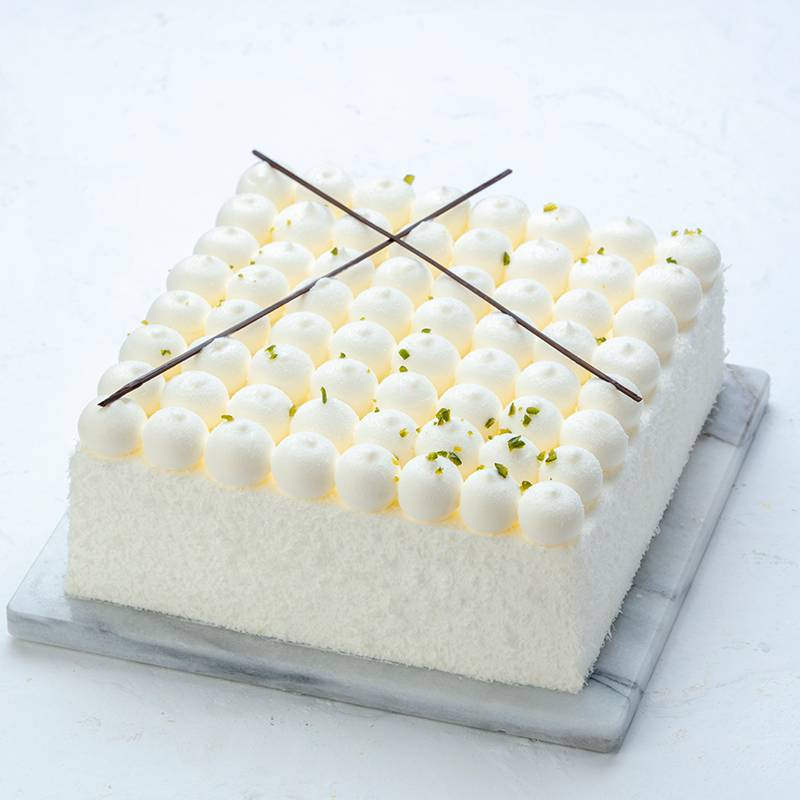 Square Cream Cake To China