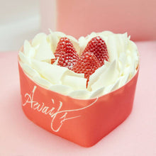 Load image into Gallery viewer, Love Awaits-Valentine's Day Blisscake Strawberry Cake to China