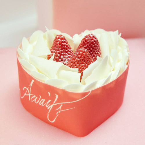 Love Awaits-Valentine's Day Blisscake Strawberry Cake to China