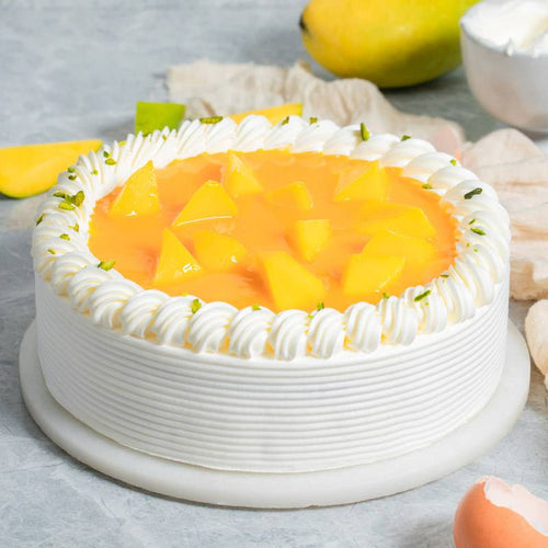 2 Pounds Mango Cricle Cake To China