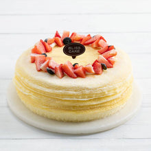 Load image into Gallery viewer, Durian Melaleuca cake with Strawberry Fruit