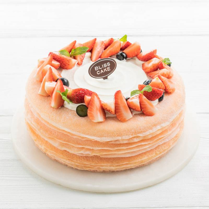Strawberry Melaleuca cake