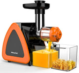 Morpilot Juicer Machine, Slow Masticating Juicer with Quiet Motor & Reverse Function