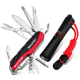 15 in 1 Swiss Style Army Pocket Knife Outdoor Set