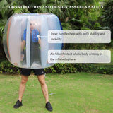 Two Bumper Balls Inflatable Bumper Ball for Adults or Child