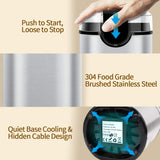 Coffee Bean Grinder Mill Grinder with Noiseless Motor One Touch