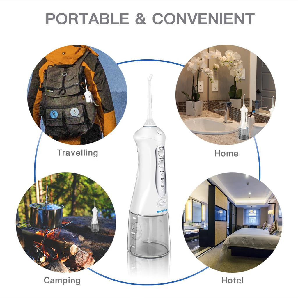 Collapsible Design Mini Portable Dental Water Flosser Oral Irrigator