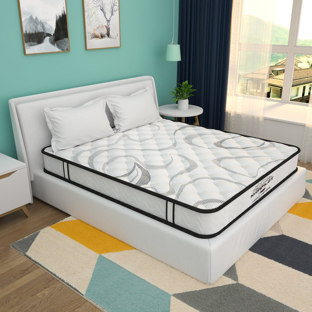 "8"" Memory Foam and Innerspring Hybrid Mattress in a Box"