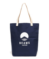 Beams evergreen works × BEAMS JAPAN logo tote bag (3色)