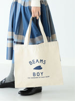Beams Boy logo tote bag (2色)