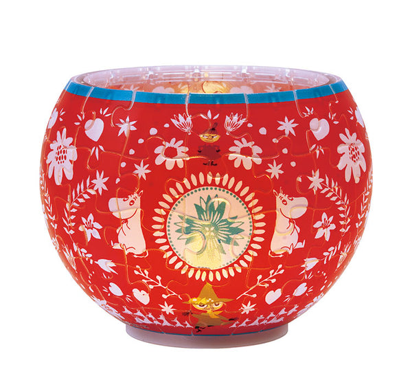 Moomin puzzle lamp (Red)
