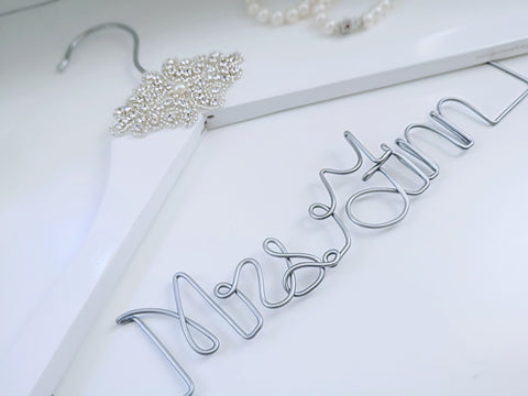 The Deluxe Personalised Hanger