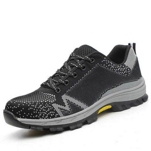 Indestructible Safety Steel Toe Tennis Shoes