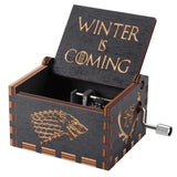 Game of Thrones Antique Carved Wooden Music Box by HBO