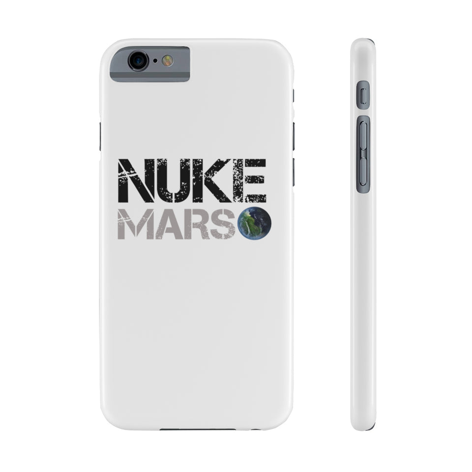 Nuke Mars Slim Phone Case