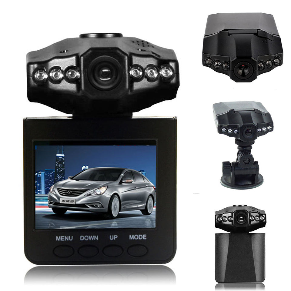Wish™️ Night Vision Driving Recorder for Car (HD & Wide Angle)