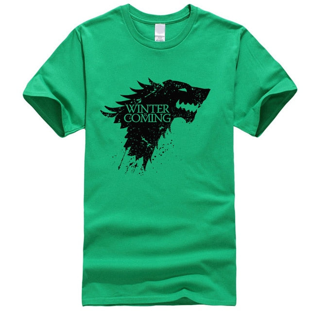 WINTER IS COMING cotton short sleeve Game of Thrones Unisex T-shirt