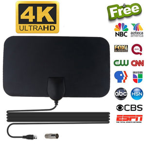WishTV™️ HDTV - Lifetime Free Cable Antenna with Signal Booster