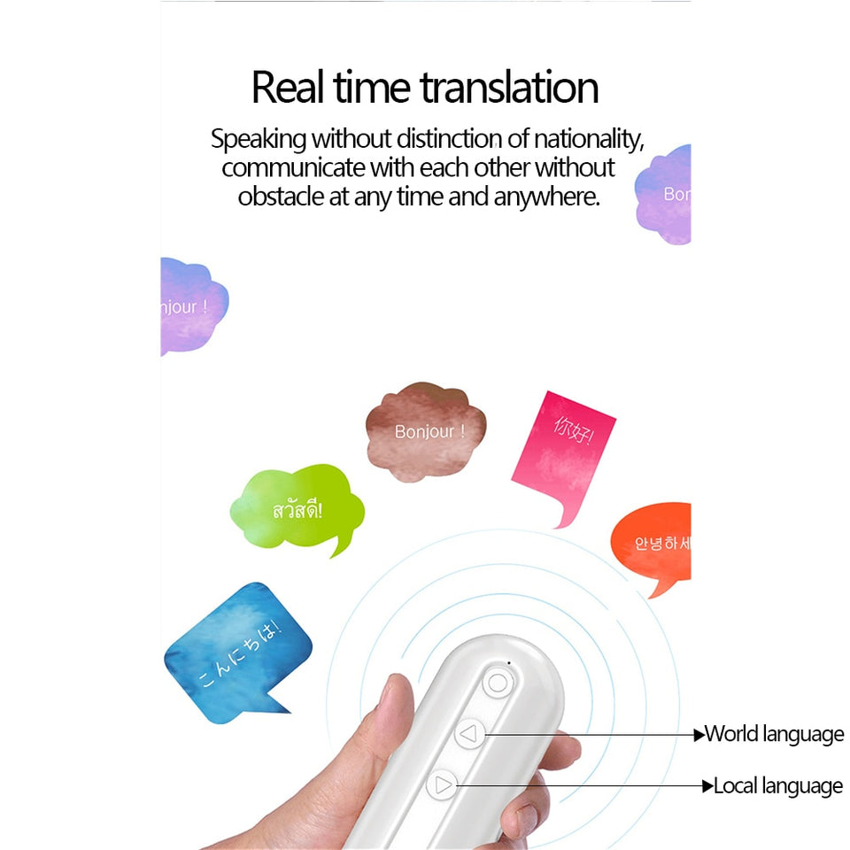 Wish Packets AirTranslate™️ Instant Voice Translator Earbuds with 50+ Languages