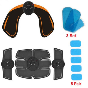 Smart Wireless Electric Muscle Simulator for ABS, Hips, Biceps, Abdominal Fitness Body Slimming Kit