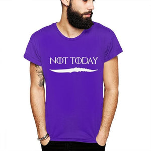 ARYA STARK NOT TODAY DRACARYS GAME OF THRONES UNISEX TSHIRT