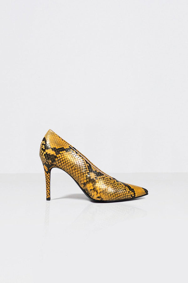 Pinch Me - yellow snake (only size 36 left in stock)