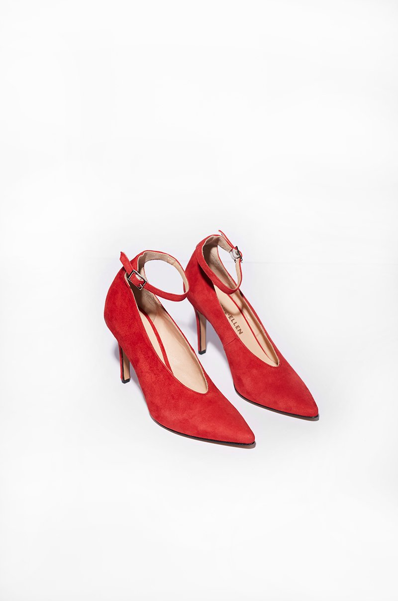Wednesday - red pumps (size 37 & 41 left in stock)