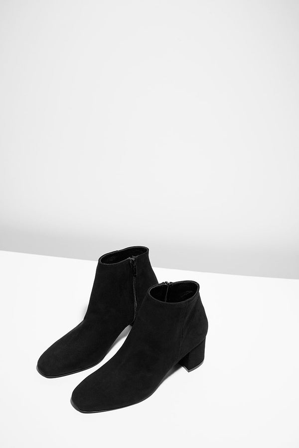 Honeymoon - black suede boots (only size 41 in stock)