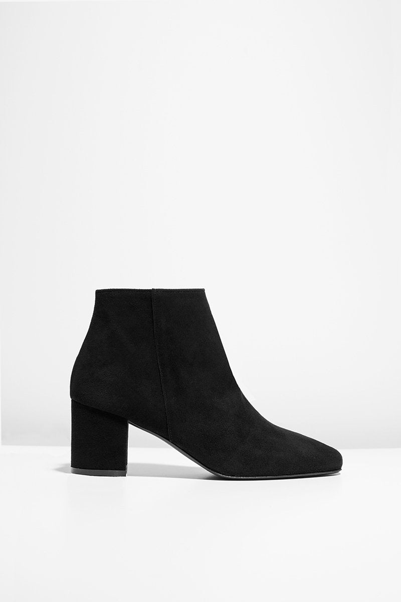 Honeymoon - black suede boots