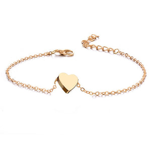 Heart Charm - Anklet