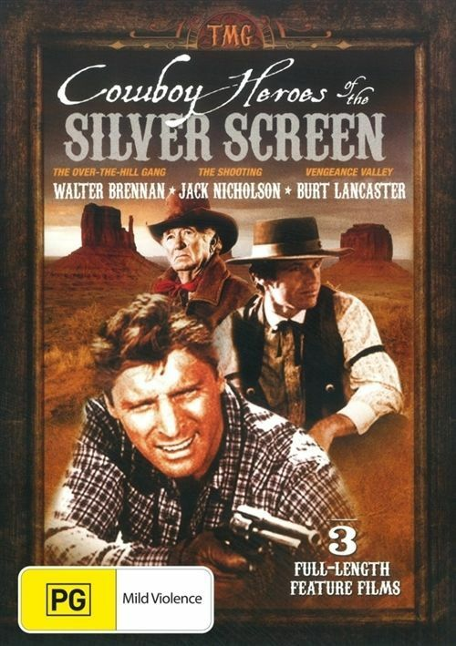 Cowboy Heroes Of The Silver Screen (DVD, 2012) - Australia only - Better Buy Now