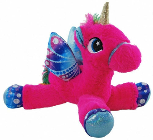 UNICORN LAYING DARK PINK - 33cm - ELKA - AUSTRALIA only - Better Buy Now