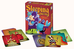 Sleeping Queens - Australia only - Genuine Brand by Gamewright - Australia only - Better Buy Now