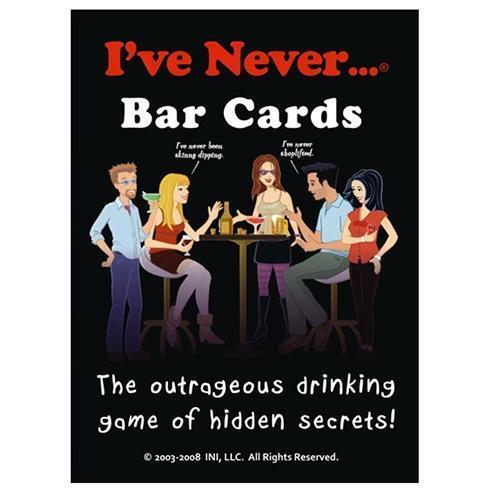 I've Never bar cards - Australia only - Better Buy Now