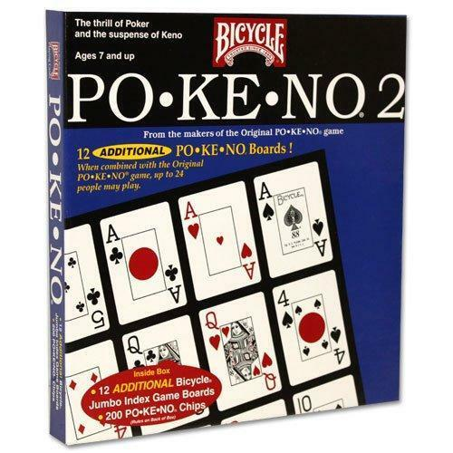 Pokeno 2 by Bicycle - Po-Ke-No - Australia only - Better Buy Now