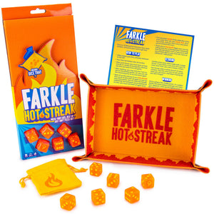 Farkle Hot Streak: Fast, Frenetic Family Dice Game - includes 6 Dice - Australia only - Better Buy Now