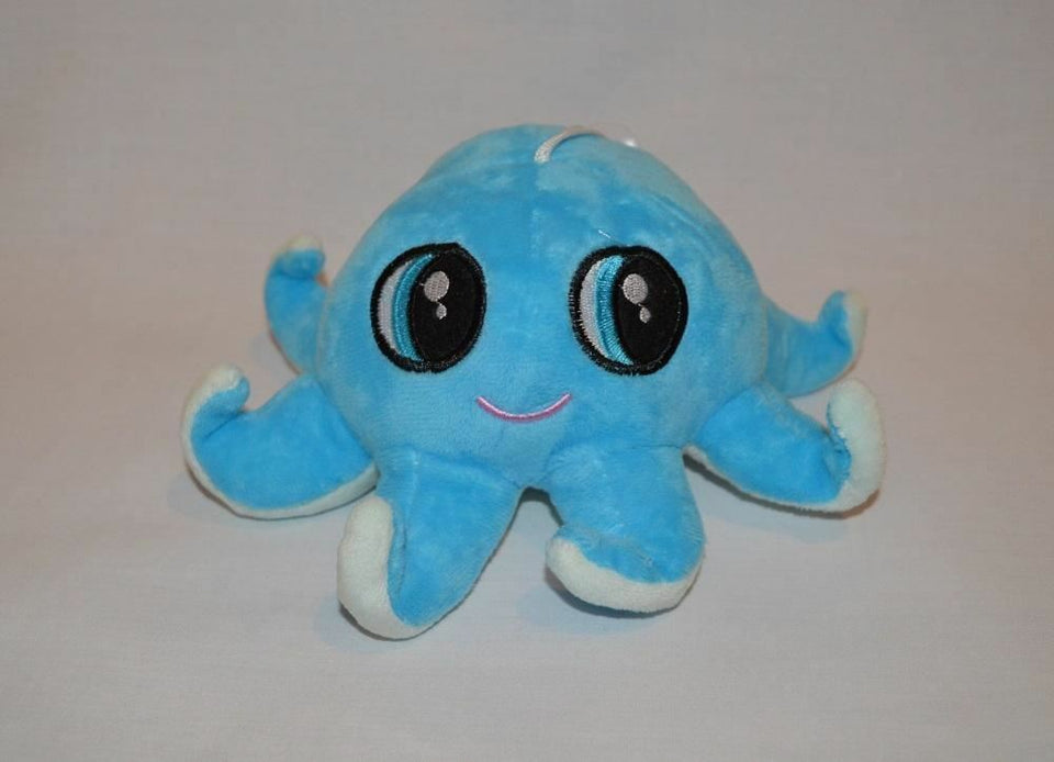 Blue Baby Octopus Stuffed Animal Plush 20cm - Australia only - Better Buy Now
