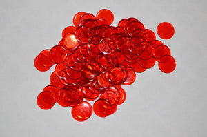 200 Pack Premium Red Bingo Chips - Australia only - Better Buy Now