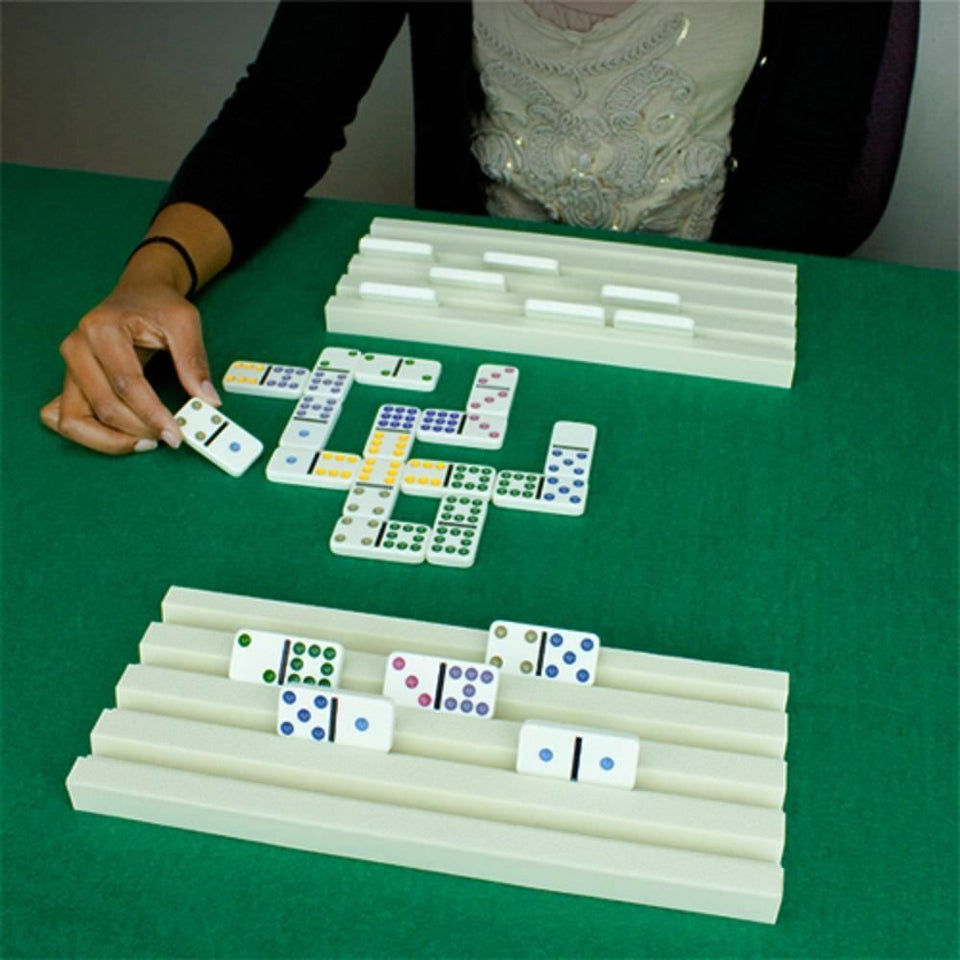 Set of Two Plastic Domino Trays - Australia only - Better Buy Now