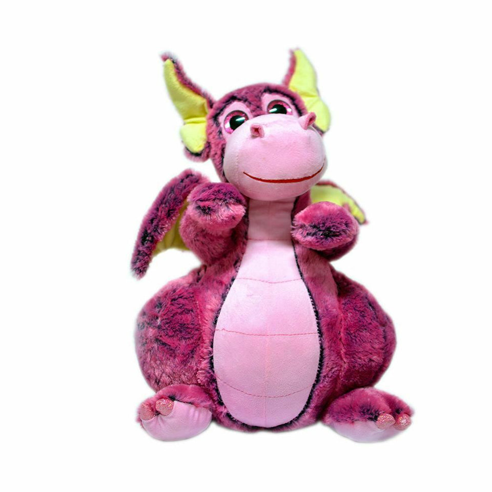 PINK DRAGON PLUSH TOY - 25cm - Australia only - Better Buy Now