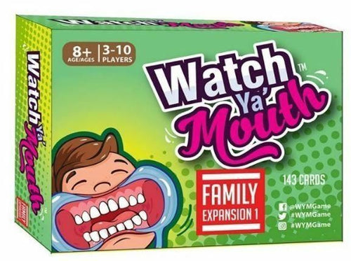 Watch Ya Mouth Family Expansion Pack 1 - Australia only