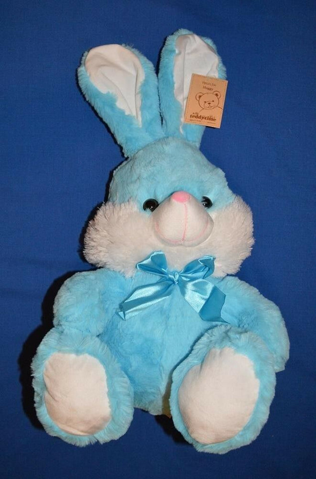 Huggy Bunny Rabbit Blue 35cm - Australia only - Better Buy Now