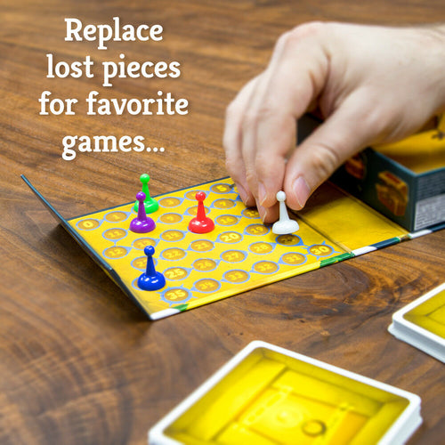 Replace Lost Game Pieces - 12 x 2.25 cm Game Pieces Tokens - Australia only - Better Buy Now