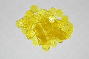200 Pack Yellow Bingo Chips - Australia only - Better Buy Now