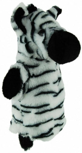 ZEBRA HAND PUPPET soft plush toy by Elka - Australia only - Better Buy Now