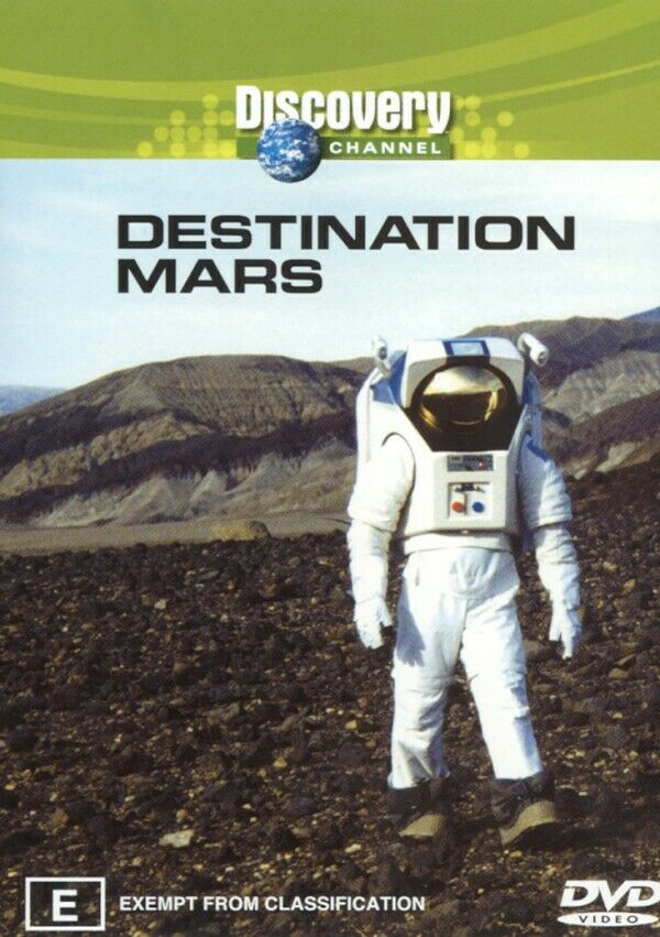 Discovery - Destination Mars (DVD, 2003) - Australia only - Better Buy Now