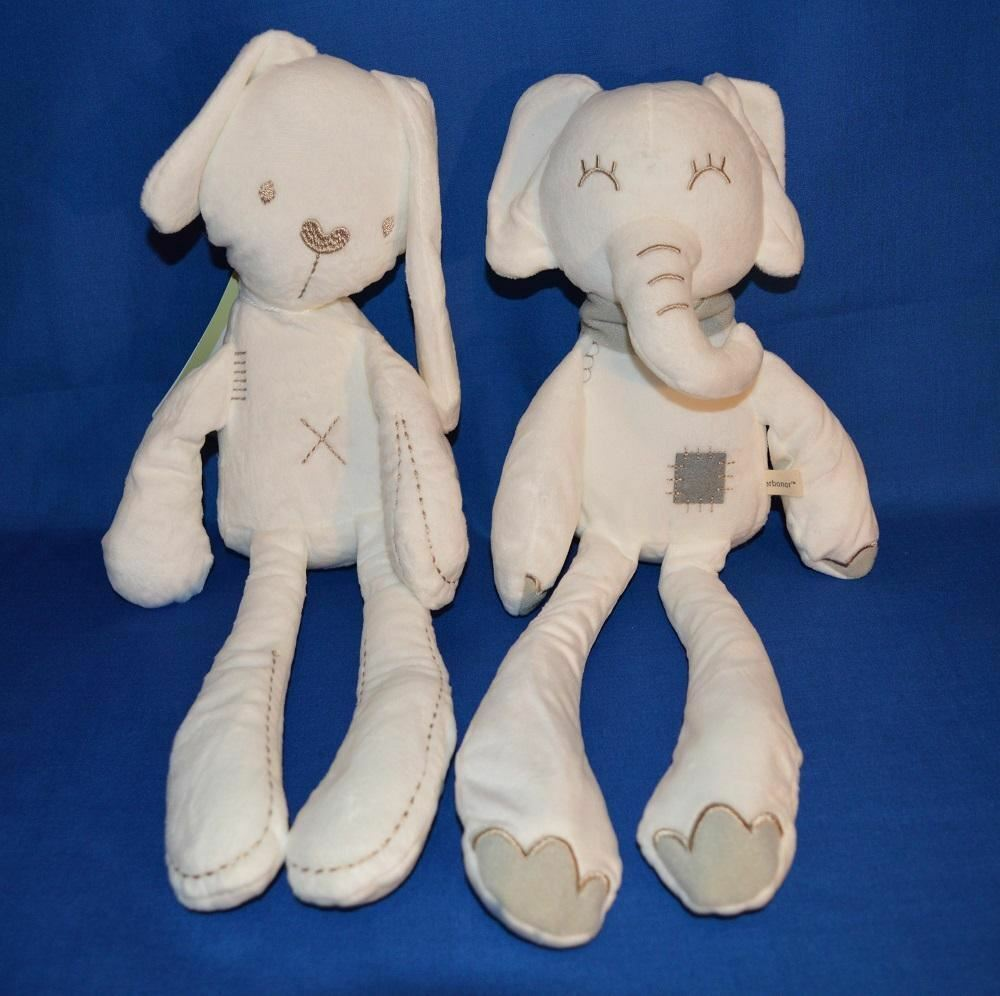 30cm Plush Toys Rabbit and Elephant - Better Buy Now