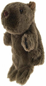 WOMBAT HAND PUPPET soft plush toy by Elka - Australia only - Better Buy Now